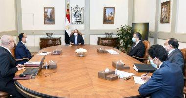 الرئيس السيسي يتابع مشروعات التنمية السياحية على مستوى الجمهورية.