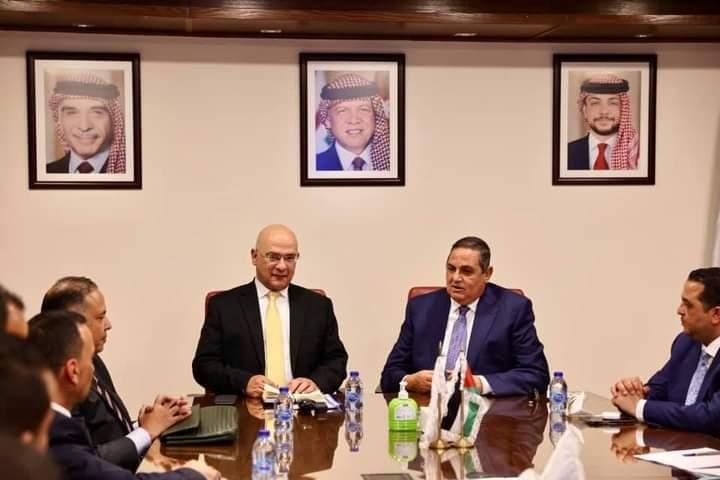 وفد مجموعة إيفرجرو المصرية يختتم زيارة عمل ناجحة با الأردن