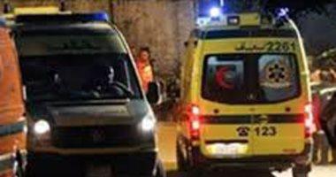 إصابة 9 أشخاص فى حادث تصادم بالشرقية