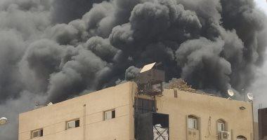 السيطرة على حريق بمخزن فاكهة بمدينة السادات والدفع بـ3 سيارات إطفاء